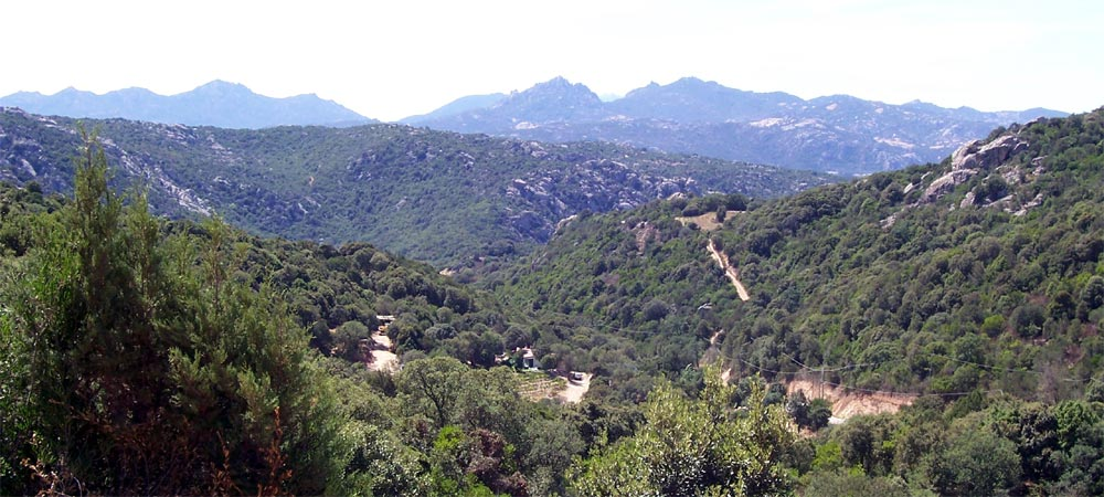 Mountain range in Sardinia